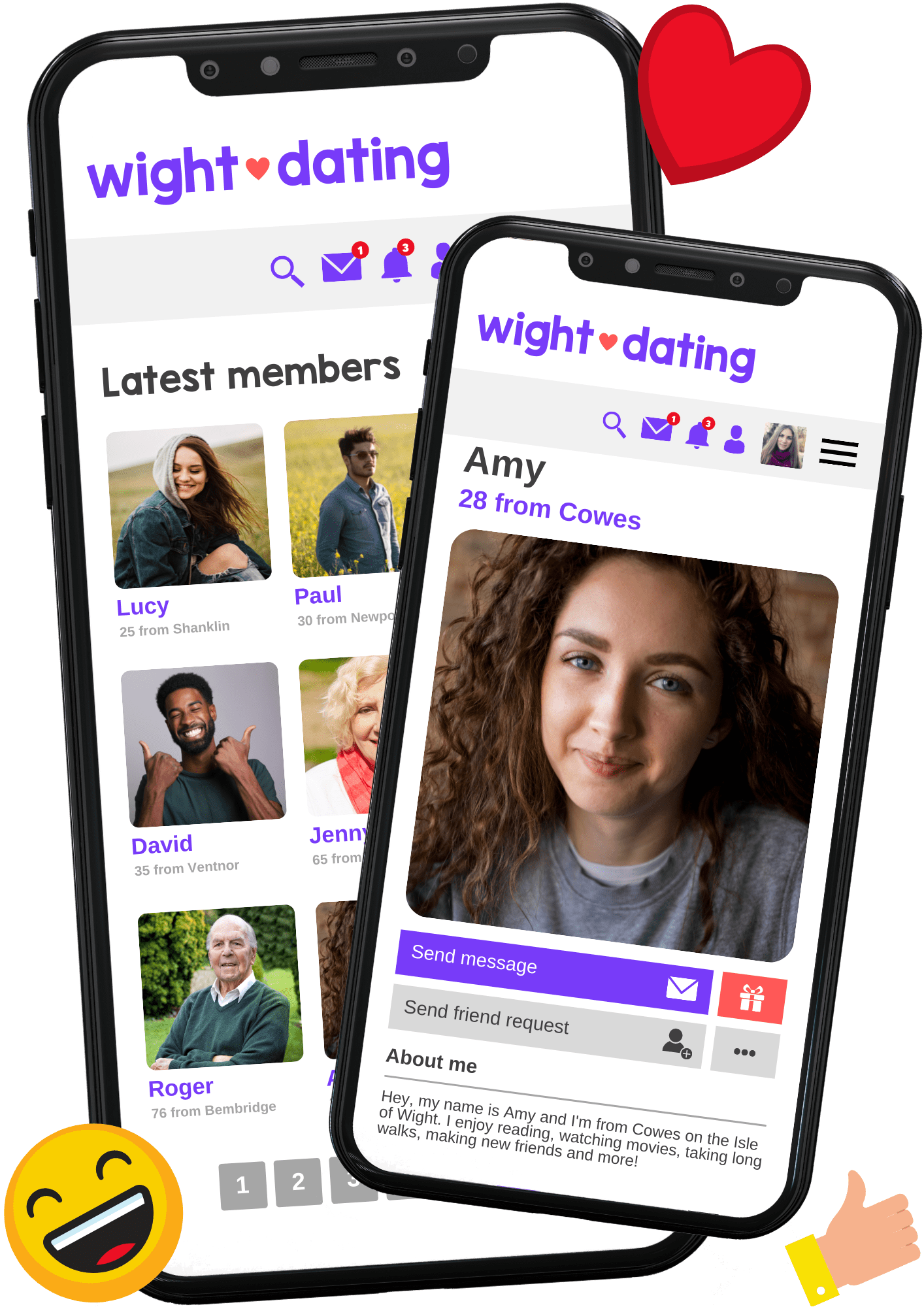 isle of wight dating events